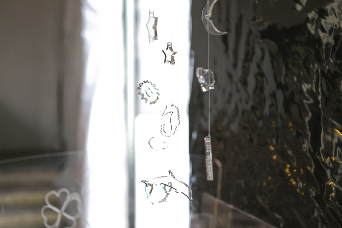 thecablook fashion blog darya kamalova street style new look transparent bag sheinside shorts chicwish cardigan aztec gucci hat giant vintage round glasses baldinini booties black sabo skirt sweater fuori salone 2013 zona lambrate-5