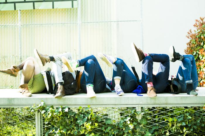 thecablook fashion blog darya kamalova street style new look transparent bag sheinside shorts chicwish cardigan aztec gucci hat giant vintage round glasses baldinini booties black sabo skirt sweater fuori salone 2013 zona lambrate-74
