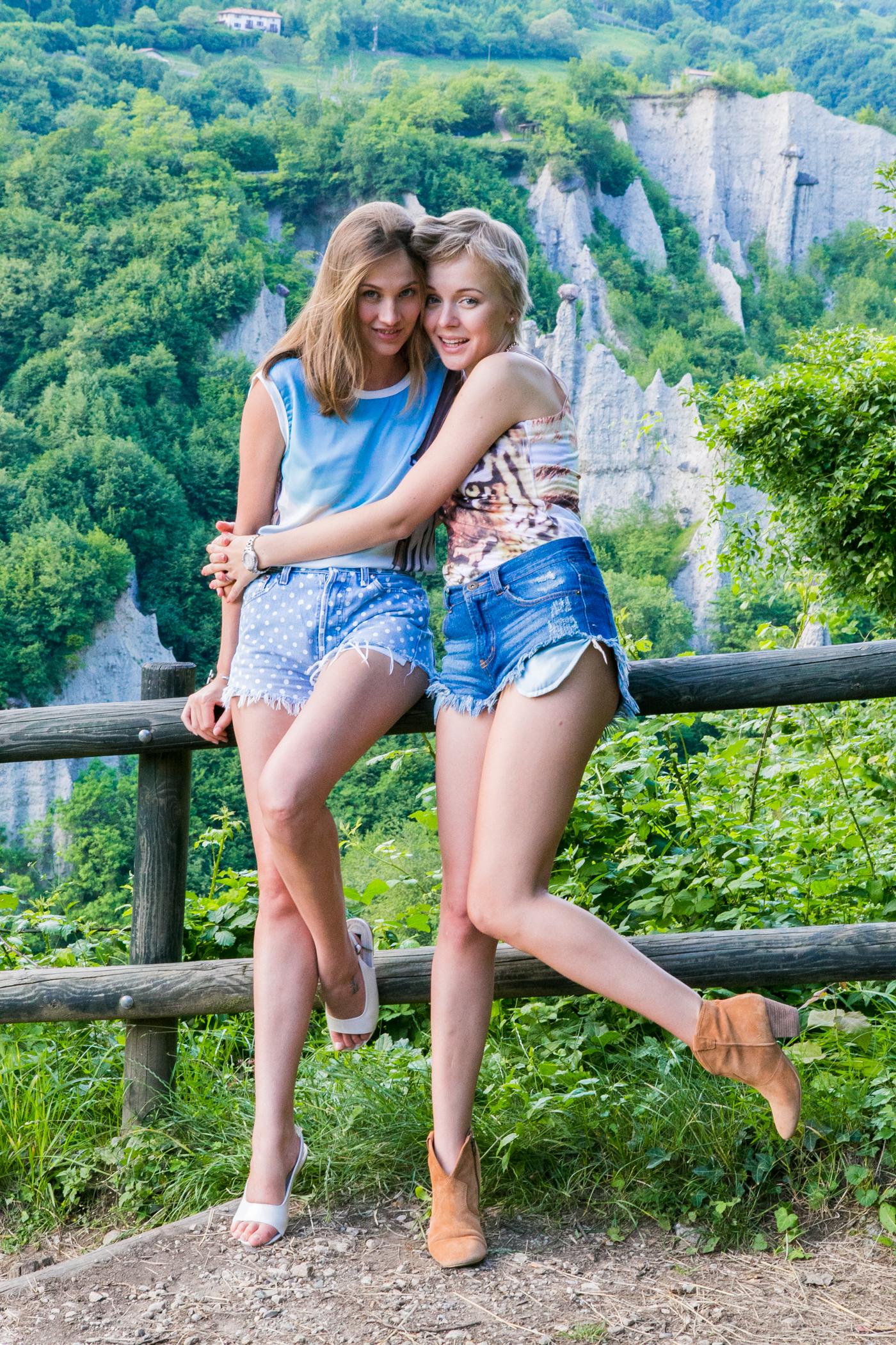 thecablook darya kamalova fashion blog street style denim shorts ash booties hm hat iseo lake piramidi di zona brescia-143