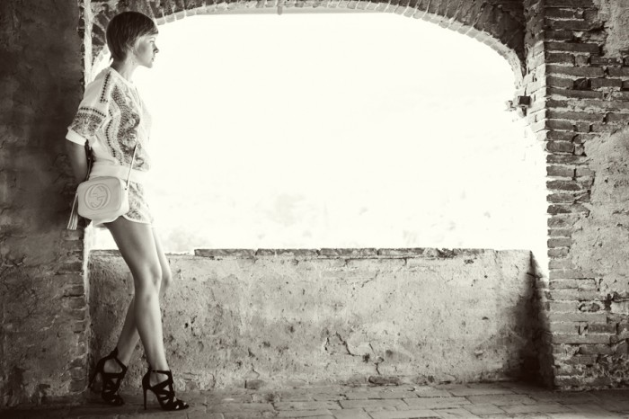 darya kamalova thecablook com fashion blog choies suit zara heels gucci disco bg off white toscana tuscany italy italia buti villa view-14 копия