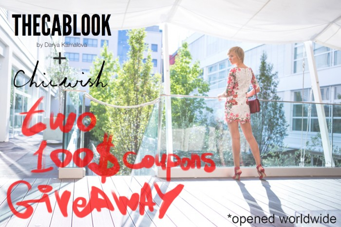 thecablook darya kamalova chicwish worldwide giveaway two coupons 100 dollars