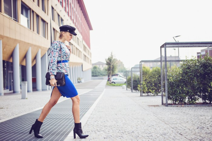 darya kamalova thecablook fashion blog street style outfit ootd HM PARIS COLLECTION HAT VJ STYLE JACKET PROENZA SCHOULER PS11 BAG ZARA BOOTIES COOEE BRACELET-9 копия