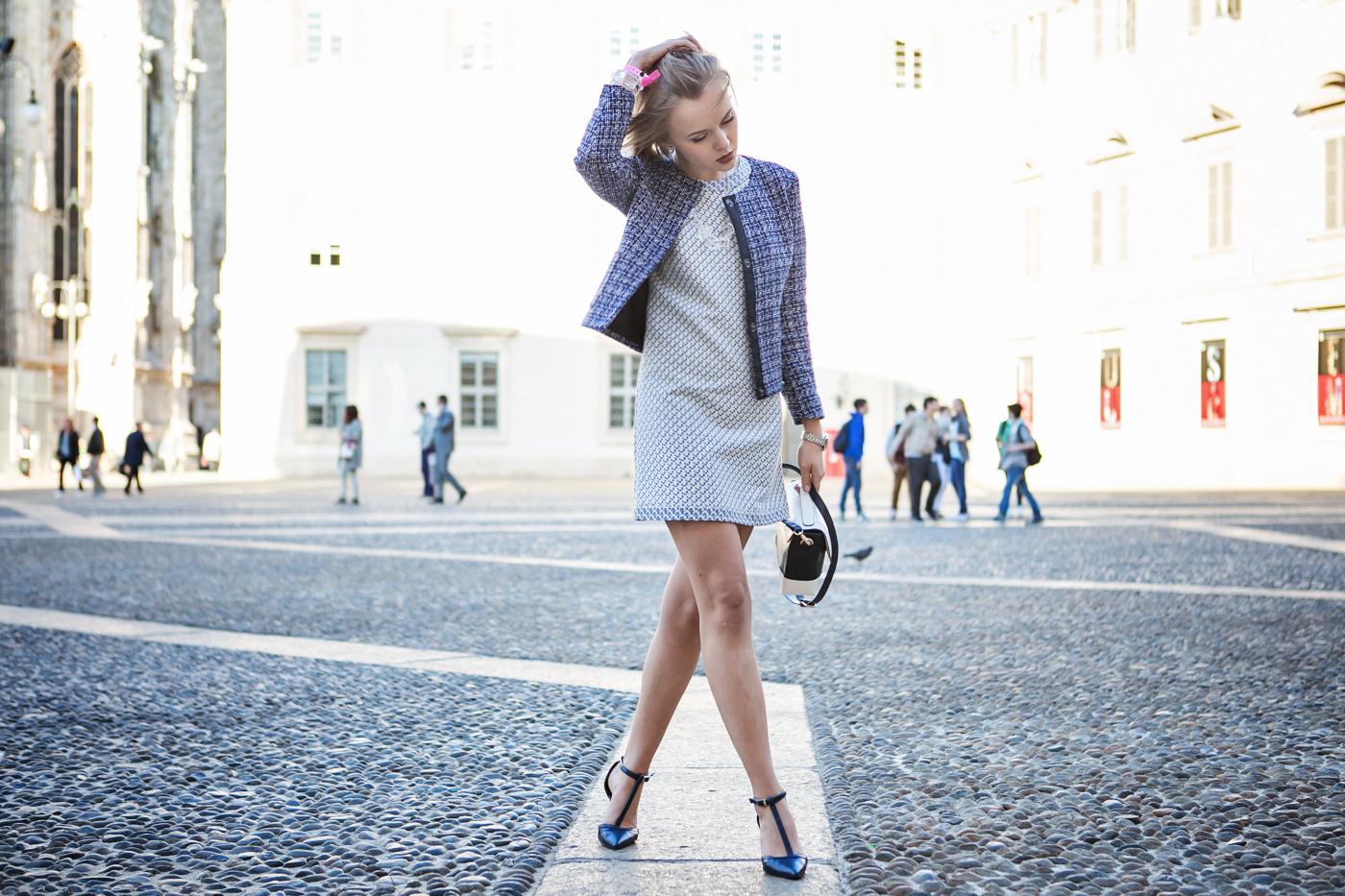 darya kamalova thecablook russian italian fashion bogger street style trend BENETTON TOTAL LOOK benettonconceptstoreanouska proetta brandon piazza duomo milan party valentina soster new collection aw 14 15_-66